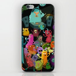 The mezcal monsters iPhone Skin
