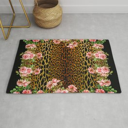 Rose around the Leopard Rug