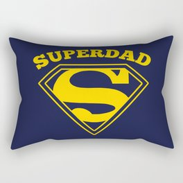 Superdad | Superhero Dad Gift Rectangular Pillow