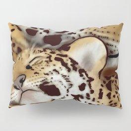 Jaguar mother and cub Pillow Sham