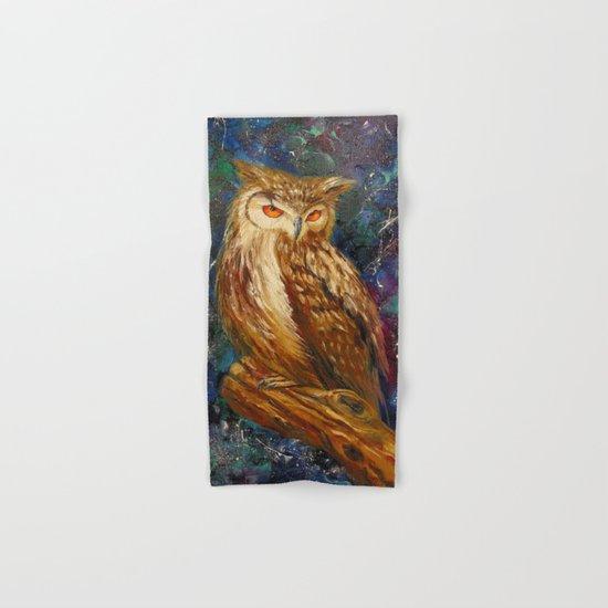 Wise owl Hand & Bath Towel