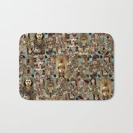 Requiem Playing Cards - Jokers and Courts Bath Mat