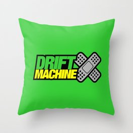 Drift Machine v3 HQvector Throw Pillow