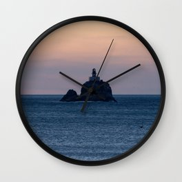 Oregon Coast Lighthouse Wall Clock