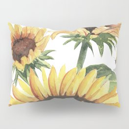 Sunflowers and Honey Bees Pillow Sham