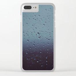 Rain Drops - Sheridan, WY Clear iPhone Case