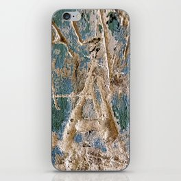 Scratched Surface iPhone Skin