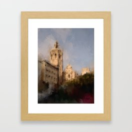 Sunset at The Miraclet Framed Art Print