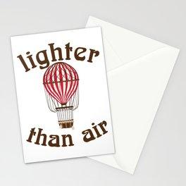 Retro Balloonist Hot Air Balloon Pilot Ballooning Gift Stationery Cards