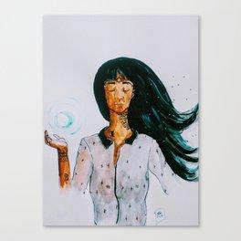 Boule d'energie Canvas Print