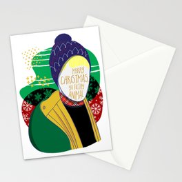 Filthy Animal Stationery Cards