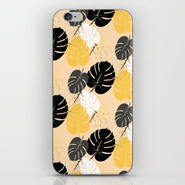 monstera 002 iPhone Skin
