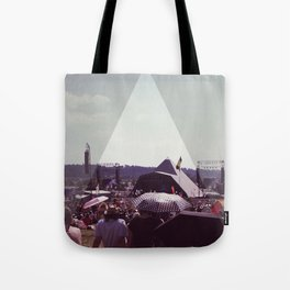 Glastonbury Pyramid stage Tote Bag