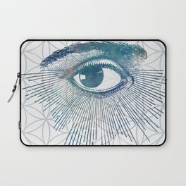 Mandala Vision Flower of Life Laptop Sleeve