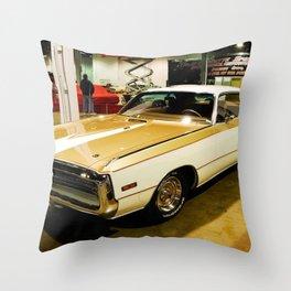 1970 Hurst MOPAR 300 Classic Muscle Car Throw Pillow