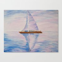 serenity Canvas Prints featuring Serenity by Ana Lillith Bar