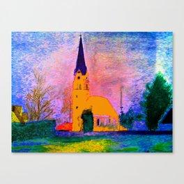 Kleine Kapelle Canvas Print
