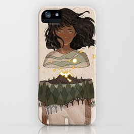 Volcano Within iPhone Case