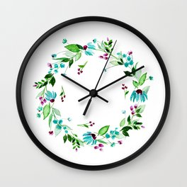 Turquoise and Caicos Wall Clock