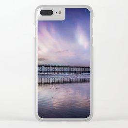 Rainbow Beach Clear iPhone Case