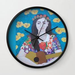 Violeta Parra -The gardener Wall Clock