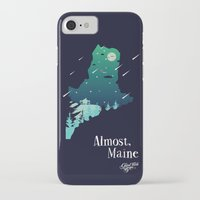 maine iPhone & iPod Cases featuring Almost, Maine by Typo Negative