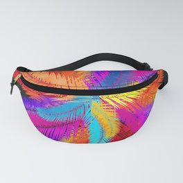 Palm Fronds Explosion Fanny Pack