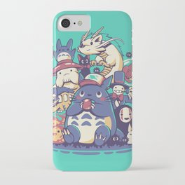 Creatures Spirits and friends iPhone Case