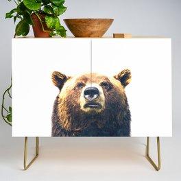 Bear portrait Credenza