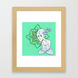 Mandala Guru Framed Art Print