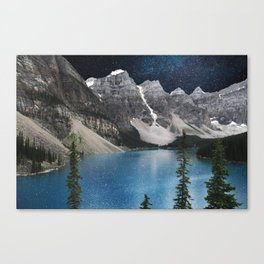 Midnight Moraine Canvas Print