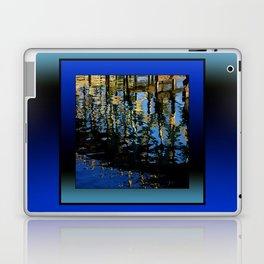 little lost grebe (square) Laptop & iPad Skin