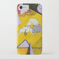 plain iPhone & iPod Cases featuring space plain by Kira Leigh