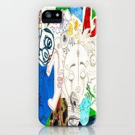 Collage 17 iPhone Case