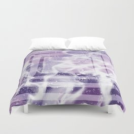 ABSTRACT ART Mystery | Square Duvet Cover