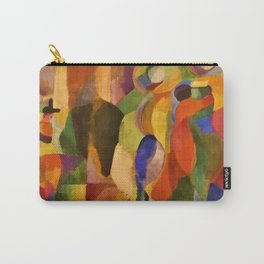 La Bal Bullier (Dancers under Saint-Michel Theater Dome Lights) by Sonia Delaunay Carry-All Pouch