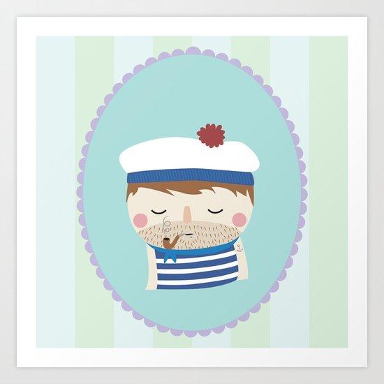 ship's boy Art Print