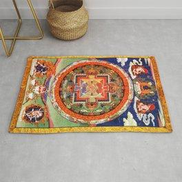Mandala Buddhist 1 Rug