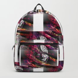 Trapped in turmoil of thoughts Backpack