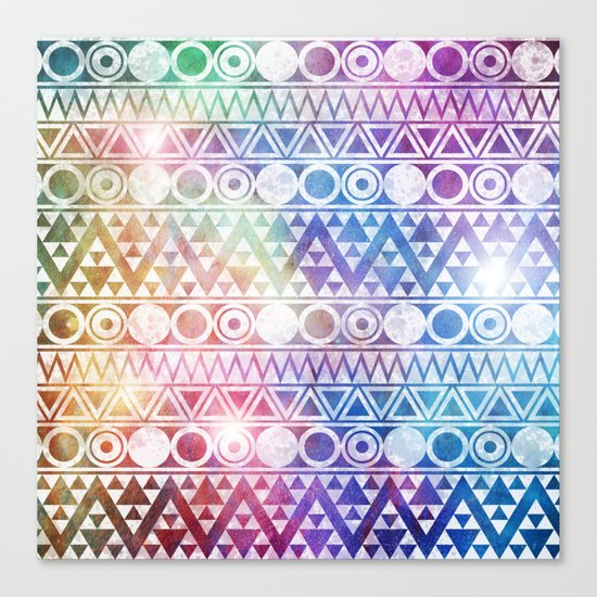 Tribal Stardust  Canvas Print