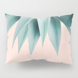 Agave fringe - peach Pillow Sham