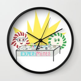 Experimints Wall Clock