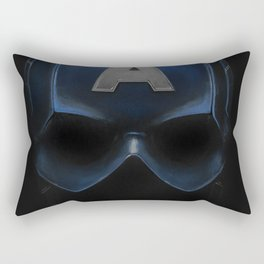 Capt America - Cowl Portrait Rectangular Pillow