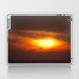 Into the Sunset. Laptop & iPad Skin