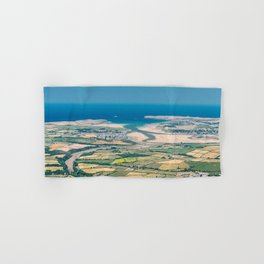 Aerial Views over North Cornwall - Padstow and Rock Hand & Bath Towel
