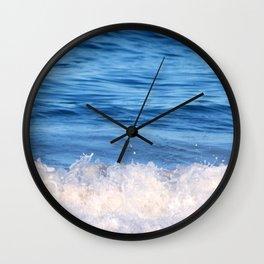 Ocean Froth Wall Clock