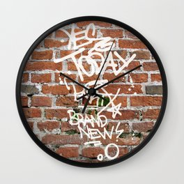Yes Today Wall Clock