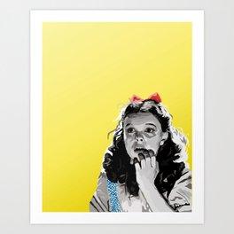 Follow! Art Print