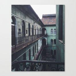 Courtyard Escape Canvas Print