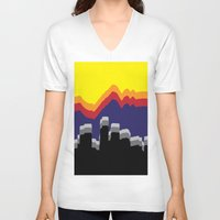 colorado V-neck T-shirts featuring ColoRADo by Sierra LaFrance